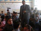 مدير الزرقا التعليمية بدمياط يكلف  المدارس باكتشاف المواهب من الطلاب