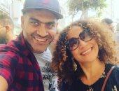 """هانى عادل ينشر صورة مع الفنانة التونسية غالية بن على على """"إنستجرام"""""""