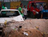 """""""النيابة"""": عبوة حادث جسر السويس مزودة بـ"""" تايمر"""" وتم تفجيرها عن بعد"""