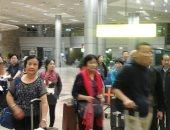 وصول أكثر من 5 آلاف سائح عربى وأجنبى إلى مطار القاهرة