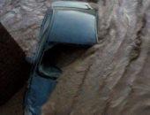 مصرع طفل وفتاة وإصابة آخر وانهيار عقار وتحطم 4 سيارات بأسيوط بسبب الأمطار