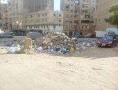 بالصور.. انتشار القمامة فى الجزيرة الخضراء بالإسكندرية والأهالى يستغيثون