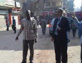 رئيس مدينة منوف يواصل جولاته التفقدية بالميادين والشوارع