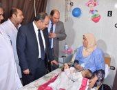 محافظ البحيرة يفتتح وحدة طب الأطفال بمستشفى إدكو بتكلفة 800 ألف جنيه