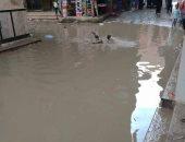 بالصور.. شوارع منطقة لعبة ببشتيل تغرق فى مياه الصرف الصحى