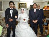 محافظ الغربية يحضر زفاف فتاة بدار الرعاية الاجتماعية بطنطا