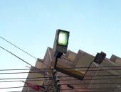 """قارئ يرصد إضاءة أعمدة إنارة ظهرا بقرية """"أشناواى"""" محافظة الغربية"""