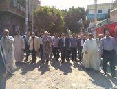 بالصور .. تشييع جنازة مجند استشهد فى سيناء بمسقط رأسه الفيوم