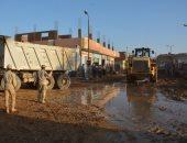 المتحدث العسكرى ينشر صورا جديدة لجهود القوات المسلحة فى رفع آثار السيول