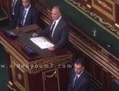 """بالفيديو.. وزير الرى: """"الداخلية"""" اتخذت إجراءات لتأمين المناطق المتضررة من السيول"""