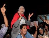 تظاهرة فى أربعينة بائع السمك المغربى