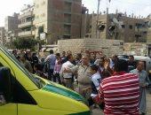 بالصور.. تفاصيل مصرع سيدة وإصابة 3 أخريات فى حادث قطار ههيا بالشرقية