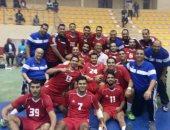 بعثة كرة اليد بالأهلى تصل القاهرة حاملة كأس أفريقيا فجر اليوم