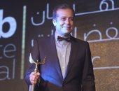 بالصور.. محمد رمضان ويوسف الشريف وشريف منير الأفضل بمهرجان الفضائيات