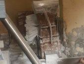 ضبط 3 أطنان من ملح السياحات فى حملة تموينية بالإسكندرية