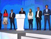شاب المقاولون العرب المكرم من الرئيس: تكريم السيسى لنا رسالة من الدولة للشباب