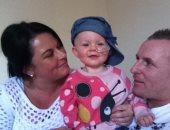 """طفلة فى عامها الأول تخضع لعملية """"زارعة نخاع"""" بعد إصابتها بالسرطان"""