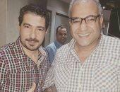 محمد بركات ينشر صورته مع بيومى فؤاد عبر إنستجرام