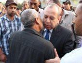 محافظ دمياط يقدم واجب العزاء فى فقيد مصر الشهيد عبد الرءوف فايد