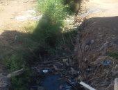 بالفيديو والصور.. المياه الجوفية تغرق منازل قرية ببنى سويف