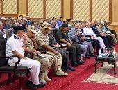 محافظ الإسكندرية يشيد بدور القوات المسلحة فى حل الأزمات