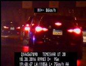 رادار المرور يلتقط 1094 سيارة تسير بسرعات جنونية أعلى الطرق السريعة خلال 24 ساعة