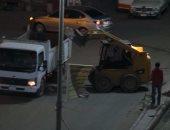 """بالصور.. شوارع أسوان """"غسيل ومكوى"""" قبل زيارة وزير القوى العاملة"""