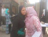 بالفيديو والصور.. صلح طالبة جامعة طنطا وحارسة الأمن