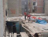 """استجابة لـ""""اليوم السابع"""" بالصور.. إعمار 40 منزلا بعزبة الصيادين بالإسكندرية"""