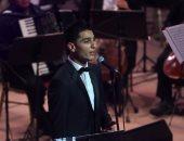 محمد عساف يغنى لفلسطين والعندليب فى حفل بمهرجان الموسيقى العربية