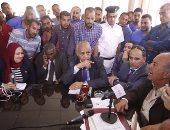 بالفيديو والصور.. محافظ البحر الأحمر: تسليم 588 وحدة سكنية لمتضررى السيول غدا