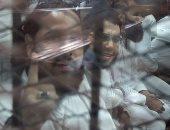 """بالصور.. ضباط شهود فى قضية """" فض النهضة"""" : وجدنا أسلحة وذخائر بخيام الإعتصام"""