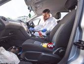 السيارة من الداخل مليئة بالبكتيريا وأقذر من لوحة الحاسوب بمعدل 55%