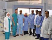 بدء المرحلة الثالثة للتشغيل التجريبى لمستشفى كفر الشيخ الجامعى