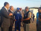 بالصور.. أول زيارة للأمين العام لجامعة الدول إلى مخيم الزعترى بالأردن