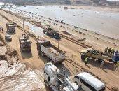 القوات المسلحة تساهم فى رفع الآثار الناجمة عن السيول بالمناطق المتضررة