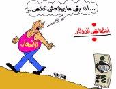 """كاريكاتير""""اليوم السابع"""" يطالب بالسيطرة على الأسعار بعد انخفاض الدولار"""