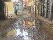 بالصور.. الصرف الصحى يغرق شوارع قرية الفقهاء فى كفر الشيخ