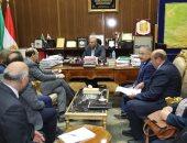 محافظ المنوفية يستقبل وفد دعم إصلاح الإدارة المحلية الممول من الاتحاد الأوروبى
