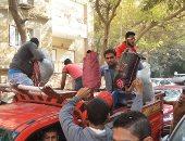 """بالفيديو.. متبرعو حملة """"كلنا مصريين"""" يرددون: """"الجيش والشعب إيد واحدة"""""""