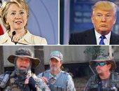 """الإندبندنت ترصد المليشيات الأمريكية المسلحة الداعمة للمرشح الجمهورى.. تهدد بتحرك مسلح فى حال فوز """"كلينتون"""".. وتؤكد: وصول ترامب للبيت الأبيض هو أخر فرصة لإنقاذ أمريكا"""