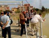 بالصور .. مياه المنوفية تواصل قياس عكارة المياه لتأمين المواطنين