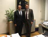 سفير مصر بألمانيا يبحث التعاون التجارى والاقتصادى مع مسئولى ولاية ساكسونيا