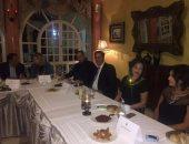 """عشاء تونسى على شرف """"الزعيم"""" بحضور وزيرة السياحة والسفير المصرى"""