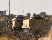 بالفيديو.. قوات إنفاذ القانون تشتبك مع إرهابيين بشمال سيناء وتقضى على 6 منهم