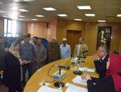 محافظ المنيا يبحث عدد من الشكاوى والطلبات خلال  لقاء خدمة المواطنين