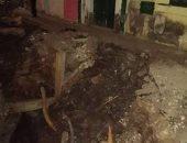 أهالى شارع عمر جمال فى فيصل يستنكرون انتشار حفر خطوط الصرف الصحى