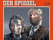 """كلينتون وترامب ملطخان بـ""""الطين"""" على غلاف دير شبيجل الألمانية"""