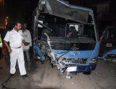 إصابة 23 شخصا فى حادث انقلاب أتوبيس رحلات بجنوب سيناء