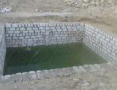 بالصور.. المياه الجوفية تهدد منازل قرية الشغب بالأقصر